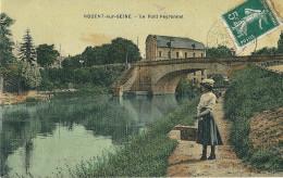 CPA 10  NOGENT SUR SEINE   PONT PEYRONNET  CP TOILEE - Nogent-sur-Seine