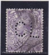 PERFIN / Y&T N°144    Perforé  CL  - 2 SCANS - Grande-Bretagne