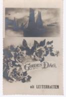 Cpa Letterhautem  1937 - Sint-Lievens-Houtem