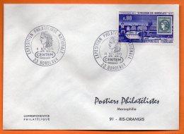 33 BORDEAUX   EXPOSITION PHILATELIQUE  CENTEM  1970 Lettre Entière N° O 126 - Storia Postale