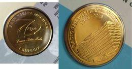 Malaysia 2016 1 Ringgit Nordic Gold BU Coin Card 2017  Radio Televisyen TV RTM 70th Anniversary - Malaysie