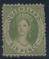 AUSTRALIA -QUEENSLAND 1862/67 - Yvert#15(*) - 1860-1909 Queensland