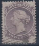 CANADA/NUEVA ESCOSIA 1860 - Yvert #6 - VFU - Nova Scotia