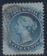 CANADA/NUEVA ESCOCIA 1860 - Yvert #7 - VFU - Nova Scotia