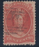 CANADA/NUEVA ESCOSIA 1860 - Yvert #9 - VFU - Nova Scotia