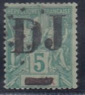 FRANCIA/COSTA DE SOMALIA - Yvert #1 - MLH * - Costa Francesa De Somalia (1894-1967)
