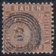 ALEMANIA/BADEN - Yvert #15 - VFU - Baden