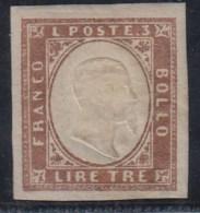 ITALIA -ESTADOS ANTIGUOS/SARDAÑA 1855/61 - Yvert#15(*) - Sardaigne