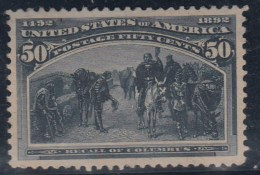 USA 1893 - Yvert #91 - Sin Goma (*) - Very Light Thin Spot - 1847-99 Emisiones Generales