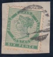 ISLA DEL PRINCIPE EDUARDO - Yvert #8 - VFU En Fragmento - Prince Edward (Island)