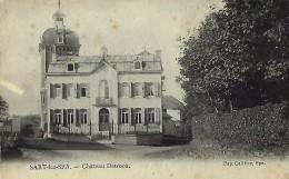 SART-LEZ-SPA : Chateau Detrooz - Spa