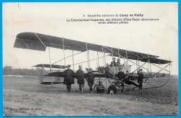 CPA 10 CAMP De MAILLY Aube - Escadrille Aérienne - Le Commandant Duperrier  ... * Aviation Militaire Militaria Avion - Mailly-le-Camp