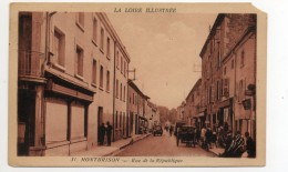 42 - Montbrison -rue De La République - Montbrison