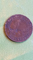 France, 1 Centime, 1879 - A. 1 Centime
