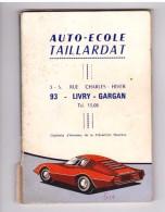 Livre Livret Code De La Route Expliqué Et Illustré Codes Rousseau Auto Ecole Taillardat 93 Livry Gargan - Auto
