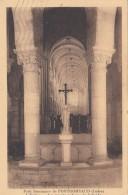 Cp , 36 , FONTGOMBAUD , Petit Séminaire , L'Église , La Grande Nef Vue De L'Abside - France