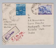 Asien Bhutan 1971-05-19 Thimphu R-Brief Nach Madupatti Inden - Bhoutan
