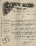 33 - BORDEAUX - PHARMACIE BOUSQUET 1914 - Non Classés