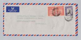 Asien Jemen 1958-06-20 Aden Camp Luftpost Brief Nach England - Yémen