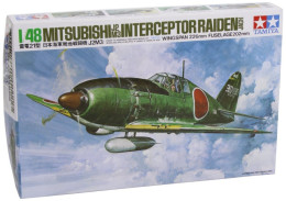Mitsubishi J2M3  Interceptor Raiden ( Jack ) 1/48  (  Tamiya ) - Airplanes
