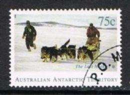 Australian Antarctic Territory SG105 1994 Departure Of Huskies From Antarctica 75c Good/fine Used - Australian Antarctic Territory (AAT)