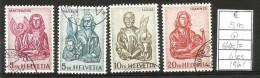 1961  SVIZZERA Serie Completa Usata - Svizzera