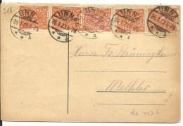 TARJETA 1923 UNNA - Deutschland