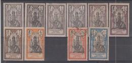 INDE - 25 (x4) + 26 (x2) + 27/28* + 32/33 Obli Cote 6,60 Euros Depart à 10% - India (1892-1954)