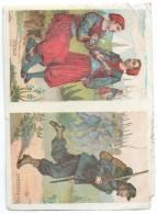 Militaria/Zouave Et Chasseur à Pied/ Vers 1870     IMA176 - Autres