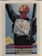 Photo 192 SALEM - 3ème Reich - Jeux Olympique D'hiver 1936 - Dokumente