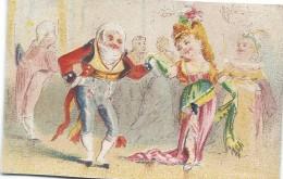 Chromo/ Habillement Pour Hommes/A La Grande Entrée/Rue Du Pont Neuf /Hermet/ Paris/Vers 1880-85     IMA178 - Autres