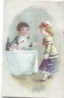 Mini-Chromo/ Eau De Toilette/Le Cosmydor/Un Bon Repas/  Vers 1880-85     IMA180 - Autres