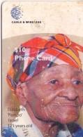 TARJETA TELEFONICA DE DOMINICA. (REGULAR)