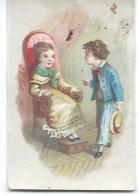 Mini-Chromo/ Eau De Toilette/Le Cosmydor/La Causerie /  Vers 1880-85     IMA181 - Autres