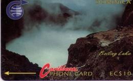 TARJETA TELEFONICA DE DOMINICA. (3CDMA)