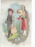 Mini-Chromo/ Eau De Toilette/Le Cosmydor/Le Départ/  Vers 1880-85     IMA183 - Autres