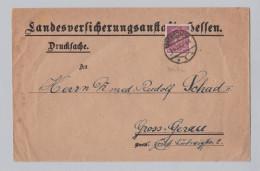 DR 1926-06-01 DarmstadtPerfin Drucksache Landesversicherungs Anstalt - Briefe U. Dokumente