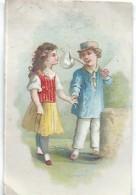 Mini-Chromo/ Eau De Toilette/Le Cosmydor/La Séparation/  Vers 1880-85     IMA184 - Autres