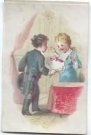 Mini-Chromo/ Eau De Toilette/Le Cosmydor/Le Bouquet/  Vers 1880-85     IMA185 - Autres