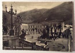 CARRARA LA STAZIONE FERROVIARIA VIAGGIATA FG - Carrara