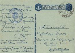 FRANCHIGIA WWII POSTA MILITARE 3100 CONC ALESSANDRIA 1942 AVIAZIONE PADOVA BOLOGNA - Militärpost (MP)