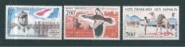 Timbres Des Cote De Somalis  PA  De 1960/62  N°27 A 29  Neuf **  Sans Charnière - French Somali Coast (1894-1967)