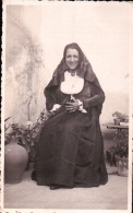 CARTOLINA FOTOGRAFICA  : COSTUME TIPICO SARDO  ( SARDEGNA ) CAGLIARI 1939 - Sassari