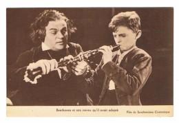 CPA Film Du Synchronisme Cinématique Beethoven Et Son Neveu Qu'il Avait Adopté - Sonstige