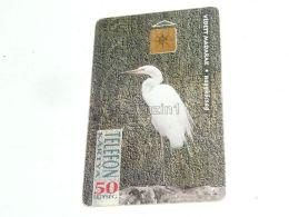 Heron Bird Vogel Phonecard Hungary - Non Classificati