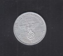 NSDAP Hitler Bewegung 1 Schilling Kampfspende Gau Salzburg Aluminium - Oesterreich