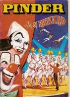 PROGRAMME - CIRQUE PINDER - 1985 - PHOTOS TOURNAGE FILM PAROLE DE FLIC - ALAIN DELON - Programs