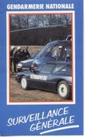 "AUTOCOLLANT - STICKERS  - "" Gendarmerie ""  -   Scan Recto /verso - Stickers"