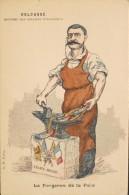 C.P.A. - Illustrateur : VERBER - Le Forgeron De La Paix - M. DELCASSE - En Très Bon état - - Satirical