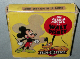 """Rare Bobine Film Super 8 Mm Walt Disney Film Office """"Pluto Et Le Méchant Minet"""" S8 Super8 Huit, Dessins Animés, Mickey - Pellicole Cinematografiche: 35mm-16mm-9,5+8+S8mm"""